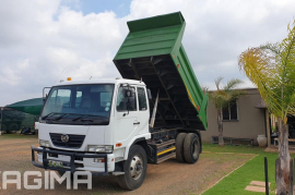 Nissan, UD85 6 Cube, 4x2 Drive, Tipper Truck, Used, 2014