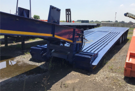 Cobalt, 4 Axle, Lowbed Trailer, Used, 2008