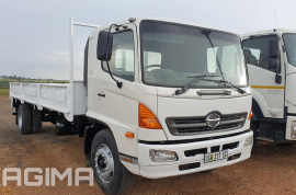 Hino, 500 15-258, 4x2 Drive, Dropside Truck, Used, 2005