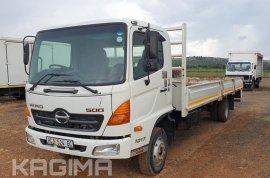 Hino, 500 1017 , 4x2 Drive, Dropside Truck, Used, 2013