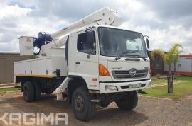 Hino, 500 1322 , 4x4 Drive, Cherry Picker Truck, Used, 2013