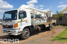 Hino, 500, 4x2 Drive, Cherry Picker Truck, Used, 2008