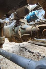 Truck Parts, Mercedes-Benz, HL7 diffs and front axles, Axels, Used