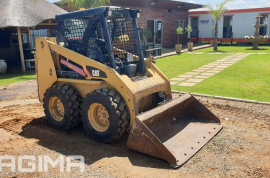 Caterpillar, 216B , Skid Steer, Used, 2015