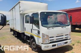 Isuzu, NPR400 Crew Cab, LWB, Volume Van Truck, Used, 2016