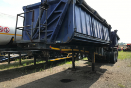 Top Trailer, Side Tipper Trailer, Used, 2011
