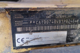 Caterpillar, 740, ADT / Dump Truck, Used, 2007
