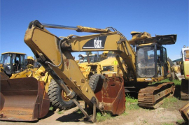 Plant / Machinery Parts, Caterpillar, 320D-2 Crawler Excavator, Stripping for Parts, Used