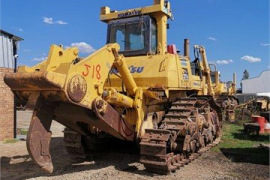 Plant / Machinery Parts, Komatsu, D375A Crawler, Stripping for Parts, Used