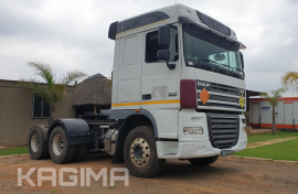 DAF,  XF 105.460 , 6x4 Drive, Truck Tractor, Used, 2015