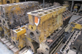 Plant / Machinery Parts, Caterpillar, C11 Engine Block, Engine Parts, Used