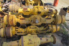 Plant / Machinery Parts, Caterpillar, 740 ADT, Axels, Used