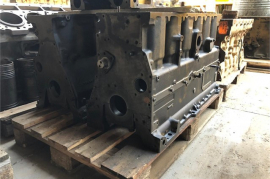 Plant / Machinery Parts, Caterpillar, 3306 Cylinder Block, Engine Parts, Used
