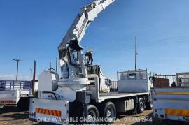 Scania, R500 Twin Steer, 8x4 Drive, Crane Truck, Used, 2012