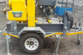 LF Trailers, Water Pump Trailer, New