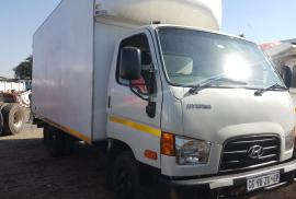 Hyundai, Single Axle, Closed Body Truck, Used, 2013