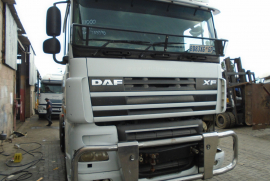 DAF, XF105, Double Diff, Truck Tractor, Used, 2011