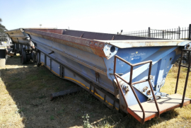 SA Truck Bodies, Side Tipper Trailer, Used, 2007
