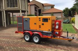 Special generator trailer