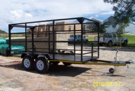 New Flat Deck Trailers for sale by LF Trailers