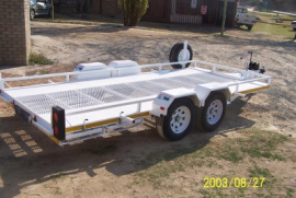 LF Trailers, Car Trailer, New