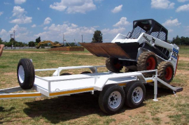 LF Trailers, Bobcat Trailer, New
