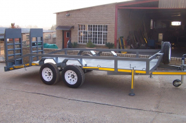 Bobcat Trailers for sale by LF Trailers