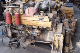 Plant / Machinery Parts, Komatsu, WA 800-2, Engine, Used