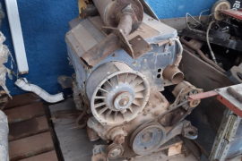 Plant / Machinery Parts, Deutz, 4 Cylinder Turbo, Engine, Used