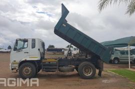 Fuso, FK13-240 6 Cube, 4x2 Drive, Tipper Truck, Used, 2013