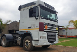 DAF, XF 105.460, 6x4 Drive, Truck Tractor, Used, 2015