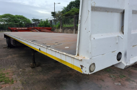 Poole, Flat Deck Trailer, Used