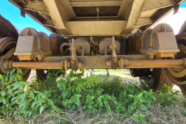 Afrit, Light Cargo 9.2 meter Flat Deck, Double Axle Trailer, Used, 2001
