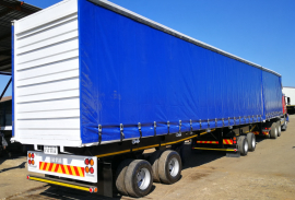 Afrit, 6.1 M X 12.2 M , Superlink Trailer, Used, 2002