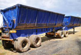 Top Trailer, Side Tipper Trailer, Used, 2010