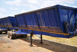 Top Trailer, Interlink, Side Tipper Trailer, Used, 2010