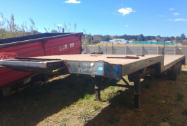 Transpec, Double Axle Trailer, Used, 2004