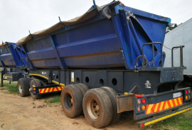 Afrit, 50 CUBE , Side Tipper Trailer, Used, 2008