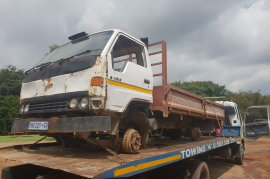 Toyota Dyna stripping For Spares - No Engine