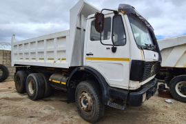 Mercedes Benz, 2225 - V-Series 10 Cube , 6x4 Drive, Tipper Truck, Used, 1989