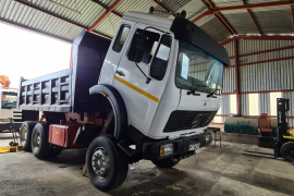 Mercedes Benz, 2636 (V8 twin turbo) 10 Cube, 6x4 Drive, Tipper Truck, Used, 1990