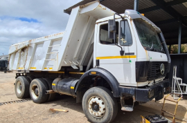 Mercedes Benz, 2629 Powerliner 10 Cube , 6x4 Drive, Tipper Truck, Used, 1996