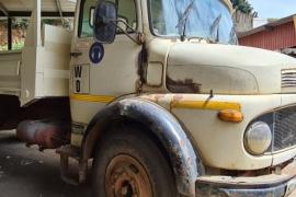 Mercedes Benz, 1113 Dropside, 4x2 Drive, Tipper Truck, Used, 1984