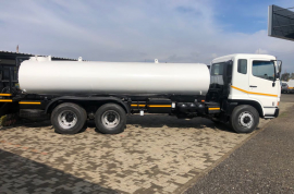 Fuso, FV 26-340, 6x4 Drive, Water Tanker Truck, Used, 2007