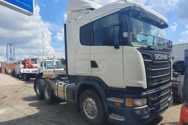Scania, R460, 6x4 Drive, Truck Tractor, Used, 2015