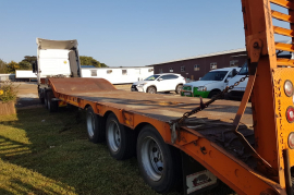 SEA Truck Bodies, Lowbed Trailer, Used, 2017