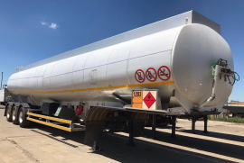 Tank Clinic, 49 000L Tri-Axle , Fuel Tanker Trailer, Used, 2017
