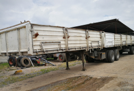 SA Truck Bodies, 6.1M x 12.2M Superlink, Dropside Trailer, Used, 2006