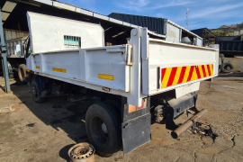 Truck Parts, Mitsubishi, HD30, Stripping for Parts, Tipper Body, Used, 2000
