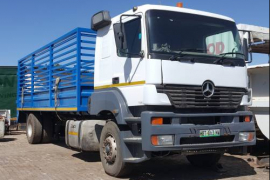 Mercedes Benz, AXOR 1840, LWB, Cattle Body Truck, Used, 2003